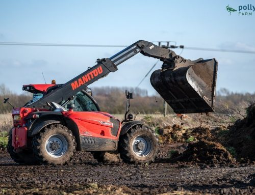 Working with the Manitou and Organic Manure